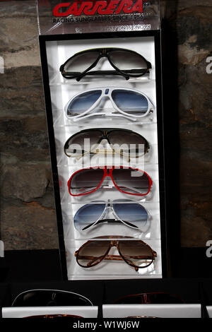 New York, USA. 13 March, 2009. Atmosphere at the launch of Carrera Vintage Sunglasses at Angel Orensanz Foundation. Credit: Steve Mack/Alamy - Stock Image