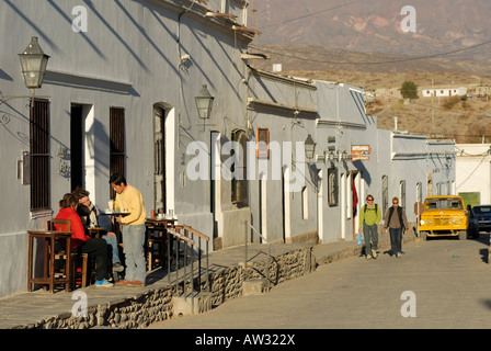 Town of Cachi in the Calchaqui Valley, Province of Salta, Argentina, South America - Stock Image