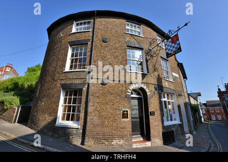 Lewes Arms, Pub, Lewes, East Sussex, UK - Stock Image