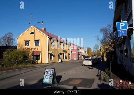 Överkalix, Norrbotten County, Sweden - Stock Image