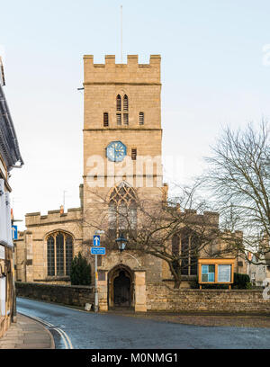 St George's Church, Stamford, Lincolnshire, England - Stock Image