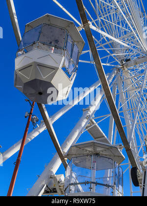 The big wheel in Leicester. - Stock Image