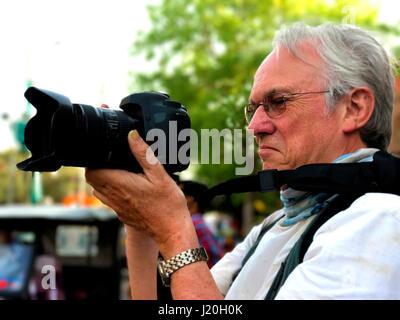 Photographers at work - Stock Image