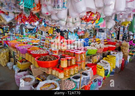 Phsar Nath, Central Market, Battambang, Cambodia, Asia - Stock Image