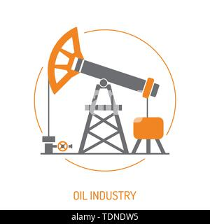 Oil industry Concept - Stock Image