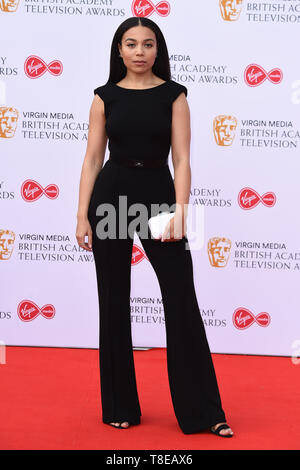 LONDON, UK. May 12, 2019: Leonie Elliott arriving for the BAFTA TV Awards 2019 at the Royal Festival Hall, London. Picture: Steve Vas/Featureflash - Stock Image