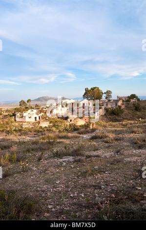 Mexico Mineral de Pozos Guanjuato abandoned silver mine landscape - Stock Image
