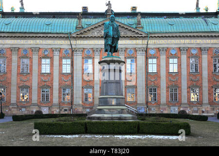 The House of Nobility, Riddarhustorget, Stockholm City, Sweden, Europe - Stock Image