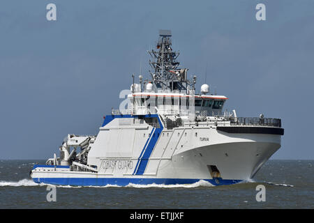 finish coast guard vessel Turva - Stock Image