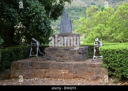 The War Memorial, Pilgrim's Rest, Mpumalanga, South Africa - Stock Image