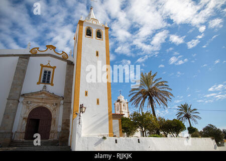 The church at Campo Maior, a historic town in the souther Portuguese region of Alentejo - Stock Image