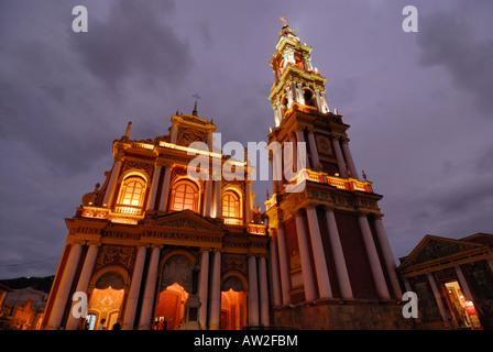 Church of San Francisco, Salta, Province of Salta, Argentina, South America - Stock Image