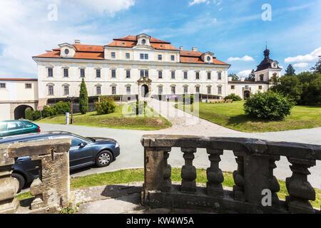 Castle, Rychnov Nad Kneznou, Czech  Republic, Europe - Stock Image