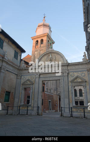 San Polo church in Venice - Stock Image