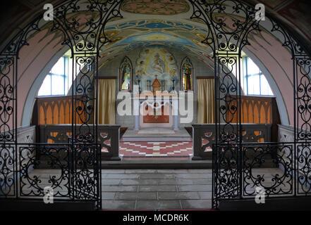Italian Chapel, Orkney - Interior - Stock Image