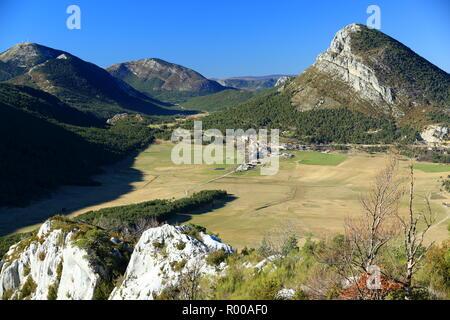 Caille, Prealpes d'Azur, 06, Alpes-Maritimes, Cote d'azur, PACA, - Stock Image