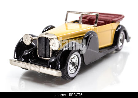 Matchbox Models of Yesteryear Y-11 Lagonda Drophead Coupé 1938 - Stock Image