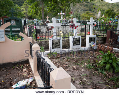 Jinotega Municipal Cemetery in Nicaragua - Stock Image