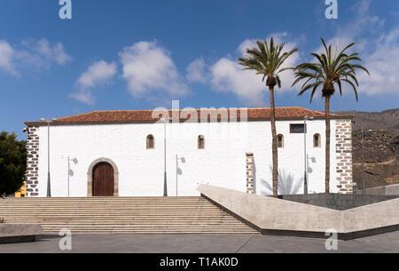 The church of St Ursula, La Iglesia de Santa Úrsula, in Adeje, Tenerife, Canary Islands. - Stock Image