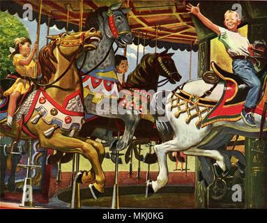 Merry-Go-Round - Stock Image