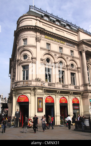 Ripleys Believe it or Not Museum Piccadilly Circus London - Stock Image