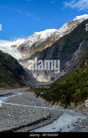 Franz Josef Glacier Walk - Stock Image