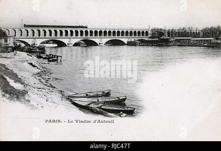Paris, France - Viaduc d'Auteuil. - Stock Image