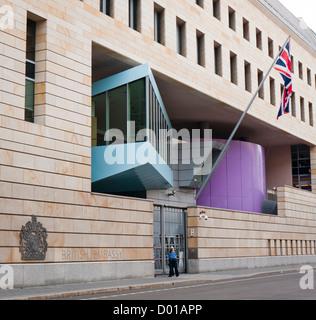 British embassy Berlin Germany - Stock Image