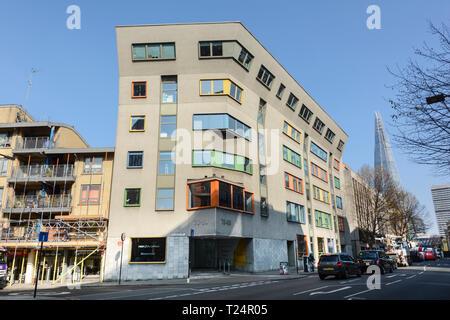 Bankside Central, 76-80 Southwark Street, London, SE1, UK - Stock Image