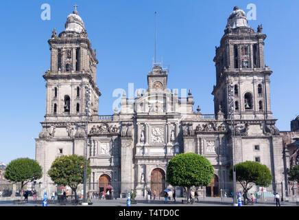 cathedral metropolitana, mexico city, mexico - Stock Image