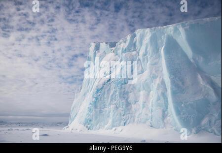 Iceberg in the Davis Street - Stock Image