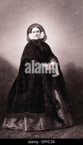 Princess Mathilde Bonaparte, ca 1860, by André Adolphe Eugène Disderi - Stock Image