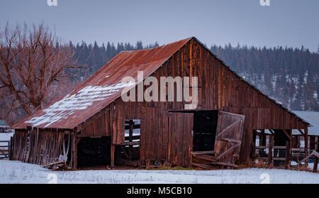 old barn - Stock Image