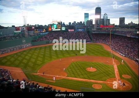 Fenway Park Boston Massachusetts - Stock Image