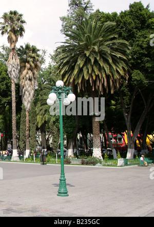 Zocalo Square, Puebla City, Puebla State, Mexico - Stock Image