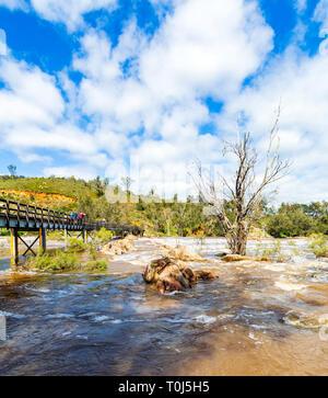 Bells Rapids, Brigadoon, Perth, Western Australia, Australia - Stock Image