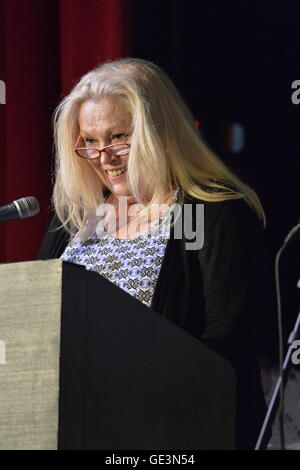 Bellmore, New York, USA. July 21, 2016. Actress CATHY MORIARITY, who was Vikki LaMotta in Raging Bull when she was - Stock Image