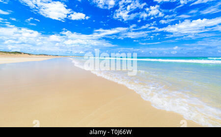 Cable Beach, Broome, A beautiful sunny day at Cable Beach, Broome, Western Australia - Stock Image
