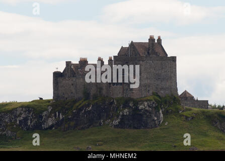 Duart Castle on the isle of Mull, taken from the Sea - Stock Image