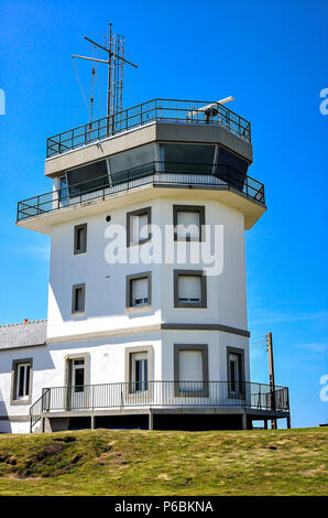 France, Brittany, Finistere, Ouessant Island, the Semaphore - Stock Image