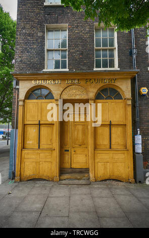 whitechapel bell foundry - Stock Image