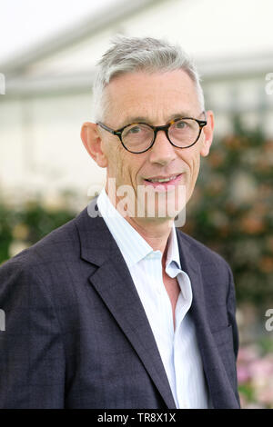 Hay Festival, Hay on Wye, Powys, Wales, UK - Friday 31st May 2019 - Author and academic Jonathan Bate at the Hay Festival to talk about How the Classics Made Shakespeare. Photo Steven May / Alamy Live News - Stock Image