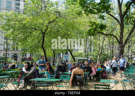 Madison square park, Downtown, Manhattan, New York City, NY / USA - Stock Image