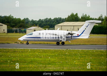 Italian Air Force P180 Avanti VIP transport plane - Stock Image