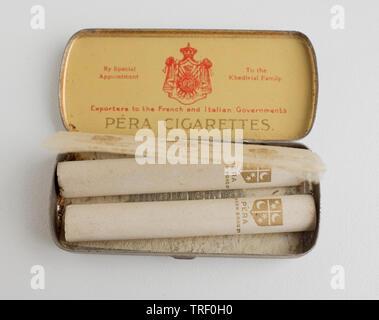 Pera Cigarettes - Stock Image