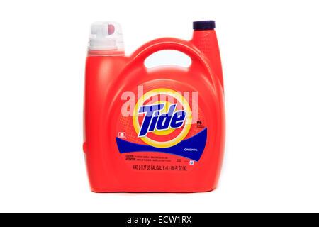 Liquid Tide Original Laundry Detergent - Stock Image