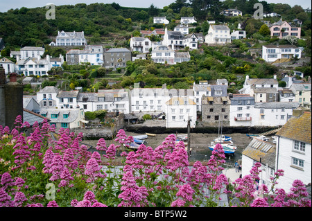 Polperro, Fishing town, Cornwall, UK - Stock Image