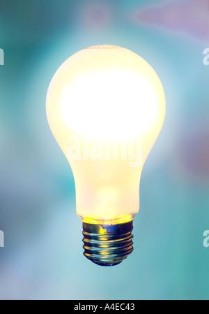 Light bulb - Stock Image