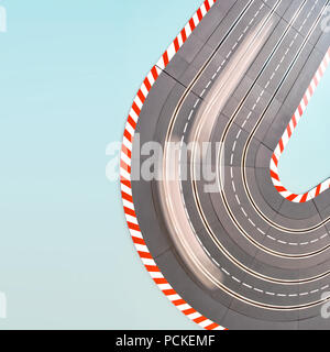 speed,course,race car - Stock Image