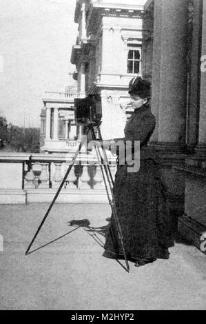 Frances Benjamin Johnston, American Photographer - Stock Image